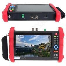 "IPC9800 7"" Touch Screen CCTV Analogy CVBS ONVIF HD IP Camera Wifi Tester POE PTZ"