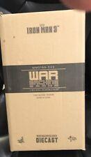 1:6 SCALE DIE CAST WAR MACHINE MACH II IRON MAN 3 HOT TOYS  MMS198-D03