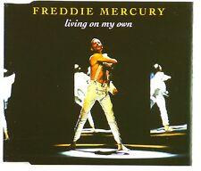 CD Maxi-Freddie Mercury-LIVING On My Own-a4124