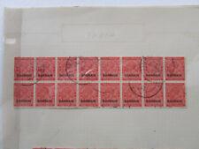 BAHRAIN BRITISH COLONY SCOTT 19 BLK 16 B (CAT $160) 1934 USED