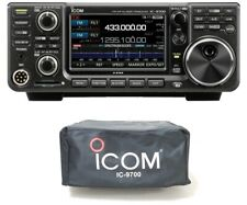 Icom IC-9700 VHF/UHF/1.2GHz D-STAR Radio with Custom Fit IC-9700 Dust Cover