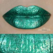 House of Beauty - Lip Hybrid - PYTHON - Metallic Dark Green W/ Slight Teal Hue