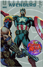 ULTIMATE AVENGERS #1 CARLOS PACHECO FOIL 1:25 VARIANT COVER (2009) MARVEL COMICS