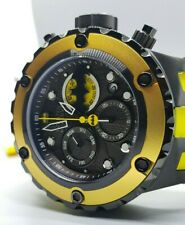 Rare Invicta SAS DC Comics BATMAN Ltd Ed. Swiss Chrono Black 52mm IP 500M Watch