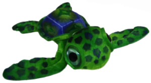Turtle Sea Green Plush Stuffed Toy 15cm Turner Turtle