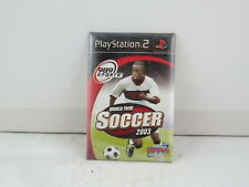 Playstation 2 Game Pin - World Tour Soccer 2003 - 989 Sports - Staff Promo Pin