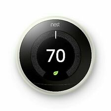 Nest (3rd Generation) T3017US Learning Thermostat - White