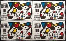 SELLO ESPAÑA 1981 EDIFIL 2609** EN BLOQUE DE 4, HOMENAJE A PABLO RUIZ PICASSO