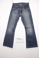 levis 516 flare Bootcut verkürzt Jeans gebraucht (Cod.U624) Tg.43 W29 L34 uomo