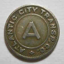 Atlantic City Transportation Company (New Jersey) transit token - NJ20F