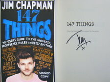 Signed Book 147 Things by Jim Chapman Hdbk 2017 First Edn users guide Universe