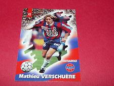 PANINI FOOTBALL CARD 98 1997-1998 M. VERSCHUERE LA BERRICHONNE CHATEAUROUX LBC