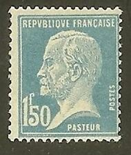 "FRANCE STAMP TIMBRE YVERT N° 181 "" PASTEUR 1F50 BLEU "" NEUF xx LUXE"