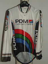 Bike Cycling Jersey Shirt Maillot Cyclism Sport Cape Pdm Size L