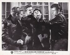SAL MINEO DENNIS HOPPER Vintage 1957 REBEL WITHOUT A CAUSE Warner Bros. Photo