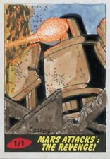 Mars Attacks The Revenge sketch card by Shaow Siong
