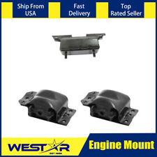2 PCS Motor Mount Kit For GMC K2500 4X4 4WD V8 6.5L Diesel Engine 1992-2000