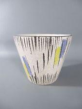 Vintage 50s Blumen Übertopf Bay Keramik  Rockabilly Nierentisch Ära /1