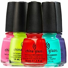 CHINA GLAZE NAIL POLISH (15ml) NEW - Choose from over 100 colours: FREEPOST AUST