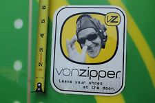 VONZIPPER Leave your shoes at the door Vintage SUNGLASSES Surfing Decal STICKER