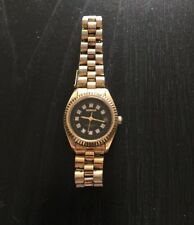 Geneve Swiss All Stainless Ladies Diamond Watch