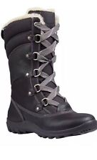 Women's Timberland Mount Hope Mid Waterproof Snow Boots Black Color 8709R 9M