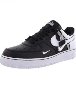 Nike Air Force 1 '07 LV8 2 men's shoes size 18 black/white-wolf gray CI0061 001