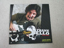 FENDER SQUIRE BASS - FRANK BELLO ANTHRAX - GUITAR STORE 16 X 16 DISPLAY POSTER