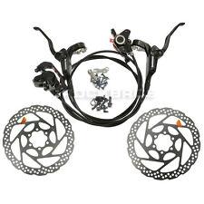 Shimano Bremsen Set Vorne & Hinten RT56 160mm Rotoren BR-BL-M355 Hydraulisch