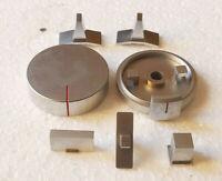 Lot de boutons pour lecteur de cassette hifi AKAI CS-F9.Pièces détachées