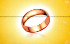 Copper Astrology Ring India Sun Surya Tamba Solid Band Size US 2 1/4