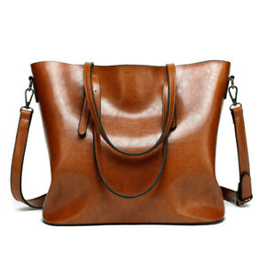 Women Leather Handbags Pouch Tote Shoulder Purse Handbag Messenger Satchel Bag