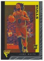 Coby White 2019-20 Panini Chronicles Flux Chrome RC Rookie Card #583
