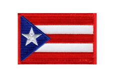 Puerto Rico Flag Tactical Morale Hook Fastener Patch (PR8)