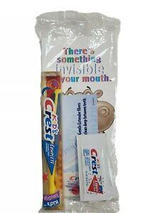 Vintage 1998 Kids Crest toothbrush Crest School Program Packet OPAM98233