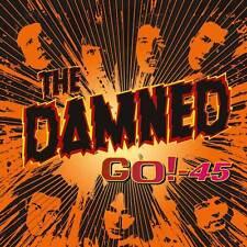 """THE DAMNED  """"GO!-45""""   LP 12""""   14 MONSTER TRACKS - RED VINYL - PUNK ROCK"""