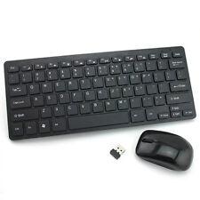 2.4G Optical Wireless Keyboard Wireless Mouse Mice USB Receiver Combo Kit PC Lap