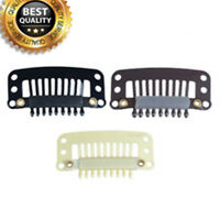 Snap Clips for Hair Extensions Medium blone Hair Clips for Weft weave