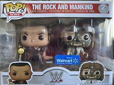 New ListingWwe! Funko Pop! The Rock Vs Mankind 2 Pack Walmart Exclusive