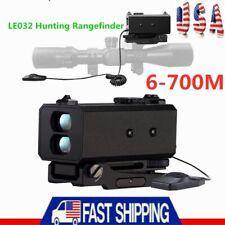 Le032 Laser Range Finder Hd 6-700M Golf& Hunting Rangefinder Telescope Portable