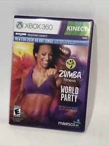 Zumba Fitness World Party Xbox 360 Nations Fitness Concert Experience Kinect