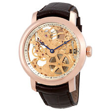 Aerowatch Renaissance Hand Wound Skeleton Dial Mens Watch A 57931 RO01