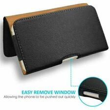 Universal Belt Pouch Clip on Hip Loop Case for Mobile Phone Cover Leather Wallet