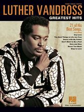 Luther Vandross Greatest Hits Learn to Play R&B Pop PIANO Guitar PVG Music Book