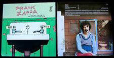 FRANK ZAPPA Waka Jawaka 1972 US ORG LP Album Cover Artwork Slicks CAL SCHENKEL