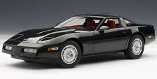 1986 CHEVROLET CORVETTE COUPE BLACK 71242 by AUTOart 1:18 SPECIAL SALE AUCTION
