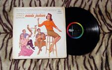 WANDA JACKSON THERE'S A PARTY GOIN' ON RARE ROCKABILLY LP 1ST PRESS!! 1961 T1511