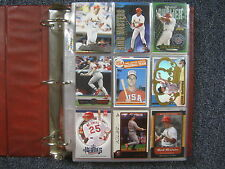 Lot of  500  MARK  McGWIRE  Baseball  Cards (1985-2002/in Notebook/clear sheets)