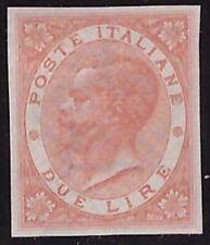 REGNO D'ITALIA 1863 - 2 Lire DE LA RUE PROVA n. P22 € 350