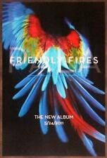 Friendly Fires Pala Discontinued Ltd Ed Rare Poster+Free Indie/Lo-Fi/Rock Poster